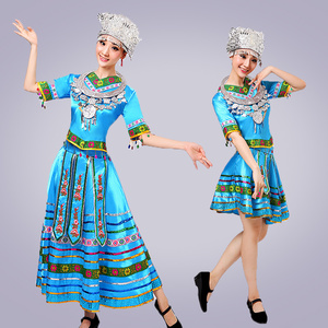 Image 5 - classical traditional chinese dance costumes for women miao hmong clothes traditional hmong clothes china national clothing