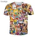 2017 Chegadas Novas roupas de marca dos homens 3D Camiseta Moda hip camisa hop t homens macho Criativo Projetado Camisas Para Homens camisetas