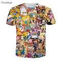 2017 nuevos lanzamientos de la marca de clothing hombres 3d t camisa moda hip hop camiseta de los hombres masculinos Creativo Diseñado Camisetas Para Los Hombres camisetas