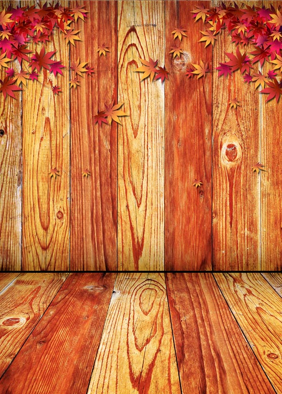 Photophone texture wood photography backdrops maple leaves fabric background for photo studio backdrop booth photo background