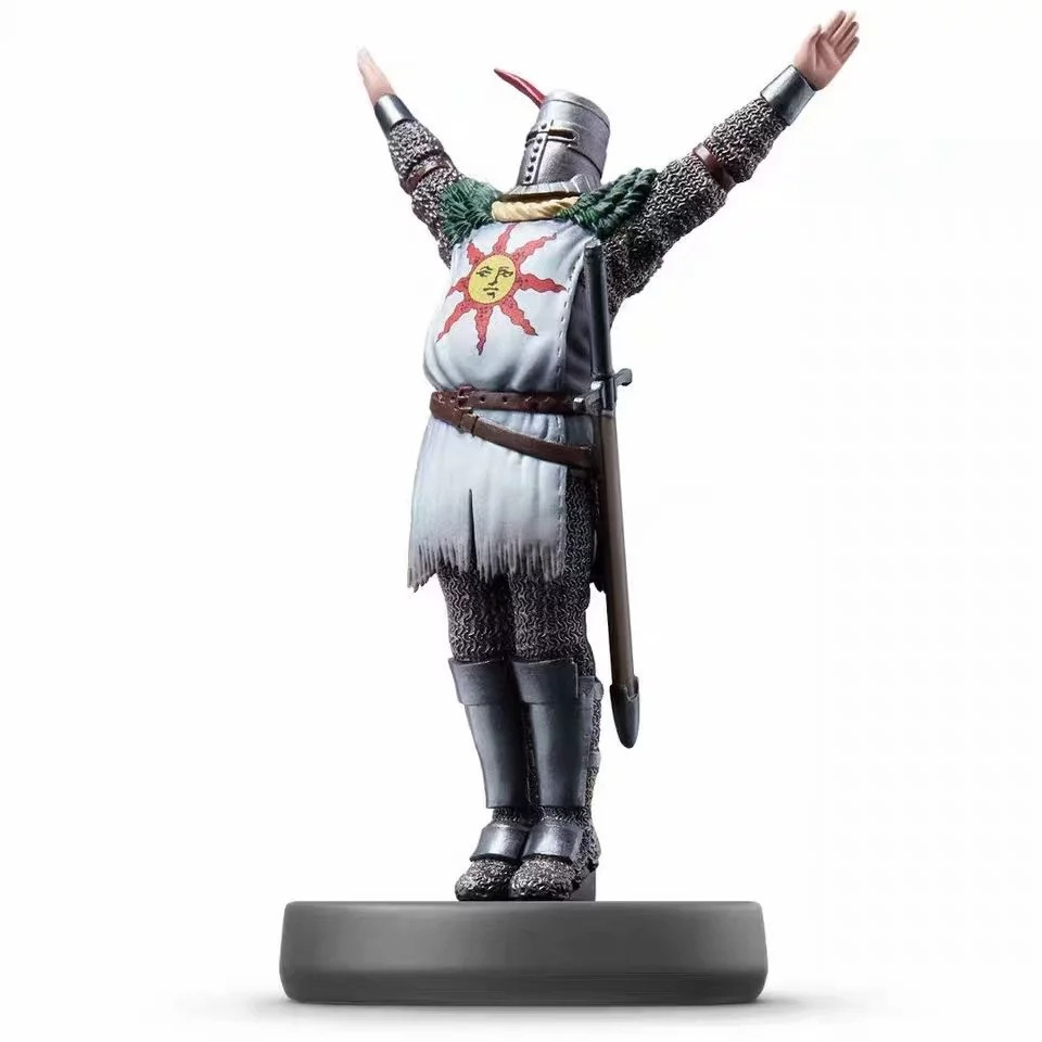 Trustful Amiibo Dark Souls Remastered Pvc Action Figure Collectible Model Toy Nfc Sun Warrior Solaire Of Astora Figure Ns Special Buy Action & Toy Figures