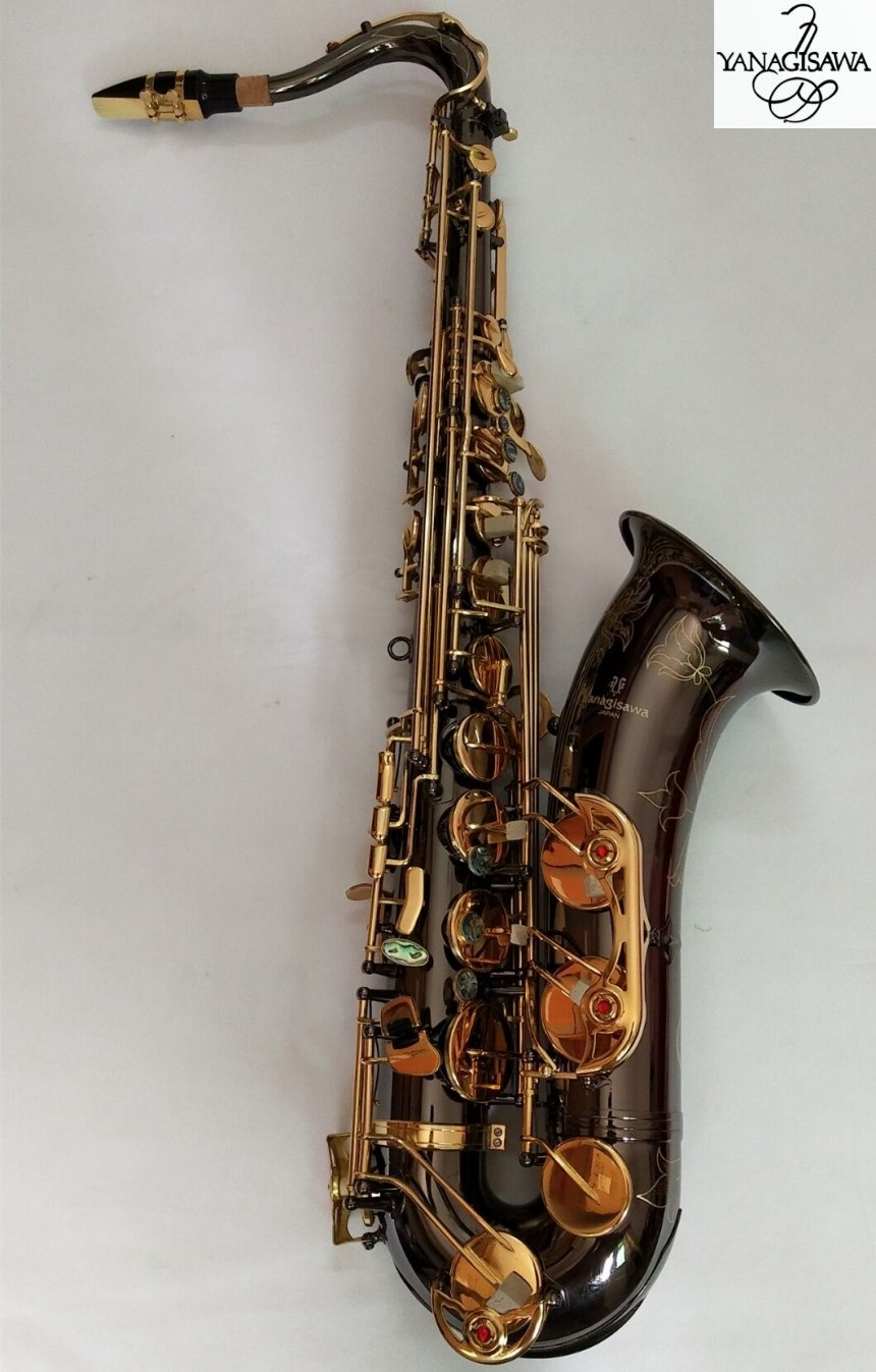 Yanagisawa T-W037 Bb Instrumentos Musicais Saxofone Tenor saxofone ouro negro desempenho Profissional Frete Grátis