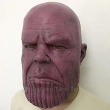 The Avengers 3 Thanos Infinity Gauntlet Cosplay Gloves Prop Halloween Hard Latex Avengers: War Mask Energy