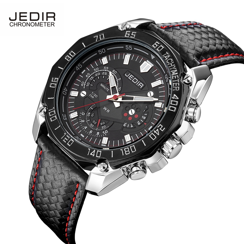 JEDIR Luxury Brand Watches Men Popular Megir Quartz Watch High Quality Sports Men's Wristwatch Relogio Mascalino 2017 Hot Clock