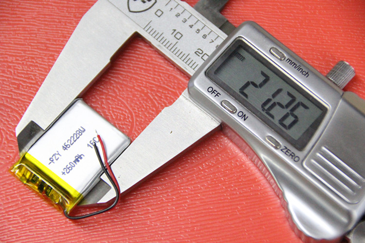 Children children GPS positioning mobile phone watch G65 smart Bracelet 462228 lithium battery 3.7V Rechargeable Li-ion Cell