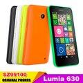 """Разблокирована Dual Sim Мобильный Телефон Оригинальный Nokia Lumia 630 Windows phone 8.1 Snapdragon 400 Quad Core 4.5 """"экран 3 Г Восстановленное"""