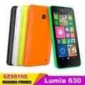 "Unlocked Dual Sim Mobile Phone Original Nokia Lumia 630 Windows phone 8.1 Snapdragon 400 Quad Core 4.5"" Screen 3G Refurbished"