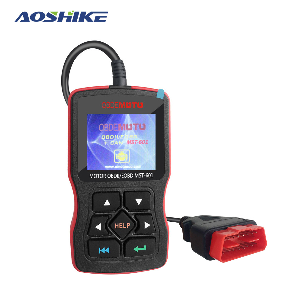 AOSHIKE OBD Diagnostic Tool OBDII Protocols Smart Scan Tool  Code Reader Support Multi Brands Cars&languages-in Code Readers & Scan Tools from Automobiles & Motorcycles