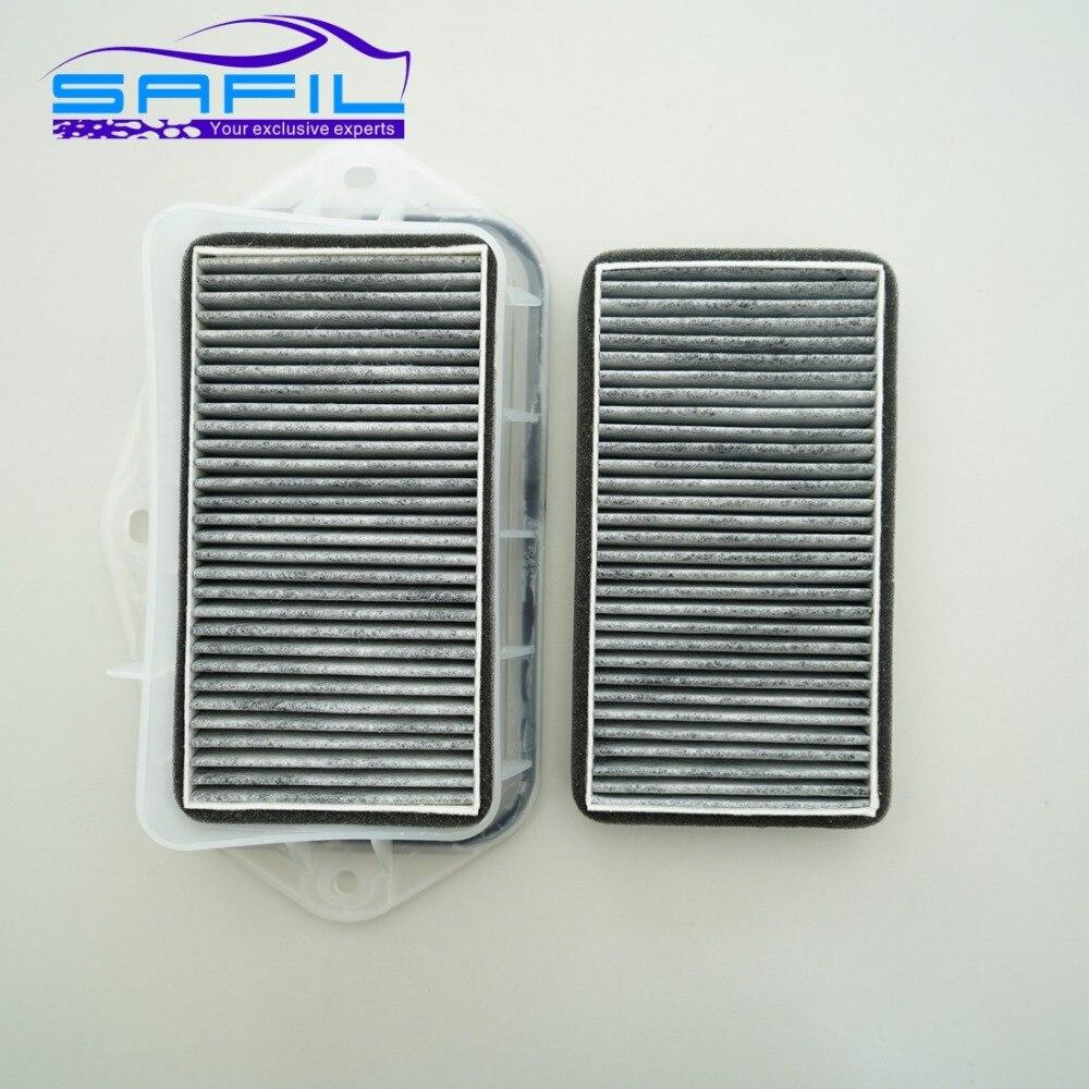 3 agujeros filtro de cabina para VW sagitar CC Passat magotan Golf Touran Audi Skoda Octavia filtro de aire externo # rt100