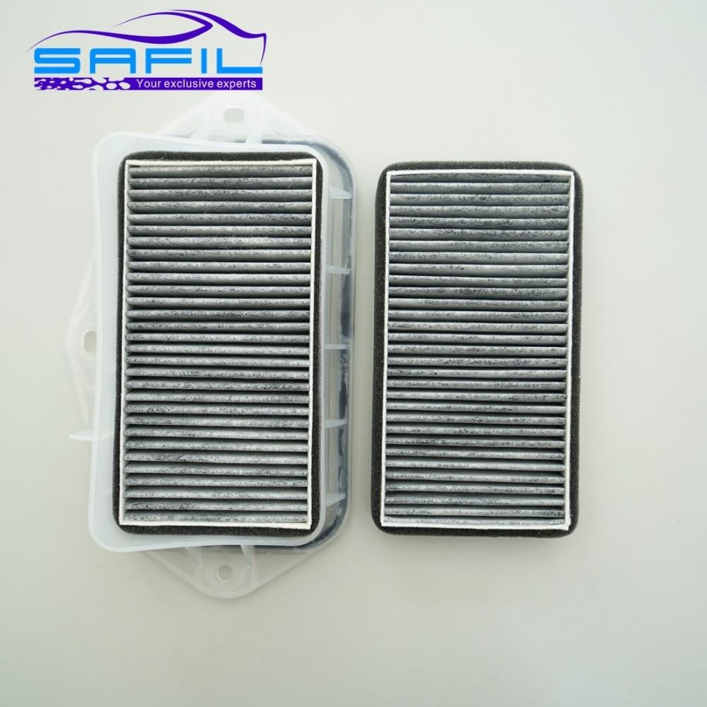 3 buracos filtro de cabine para Vw Passat CC Magotan Sagitar Touran Golf audi Skoda Octavia filtro de ar externo # RT100