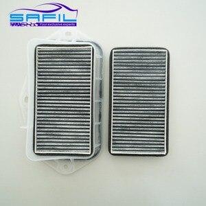 Image 1 - 3 holes cabin filter for Vw Sagitar CC Passat Magotan Golf Touran audi Skoda Octavia external air filter #RT100