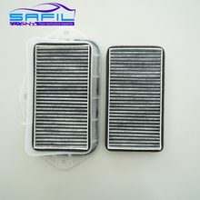 3 holes cabin filter for Vw Sagitar CC Passat Magotan Golf Touran audi Skoda Octavia external air filter #RT100(China)