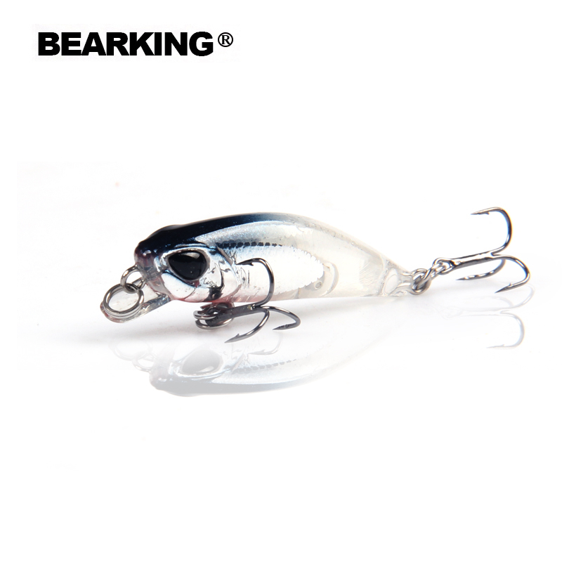 Retail Hot Model A+ Fishing Lures, 10 Colors For Choose, Minnow Crank Shad 42mm 2.8g, Sinking  0.3-0.6m,hait Baits