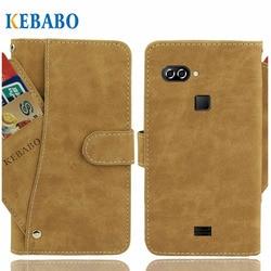 На Алиэкспресс купить чехол для смартфона leather wallet agm x2 se case 5.5дюйм. flip vintage leather front card slots cases cover business phone protective bags