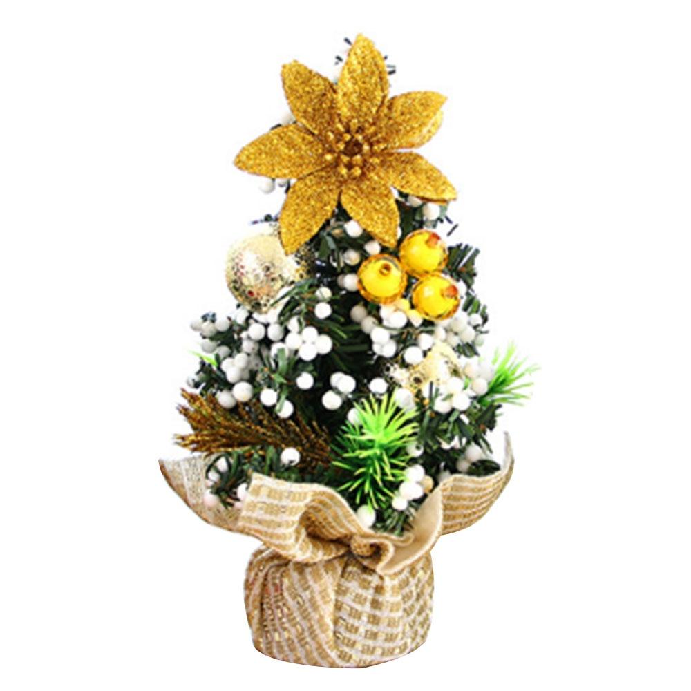 Mini Christmas Tree Table Festive Home Xmas Decoration Supplies Gift 20cm