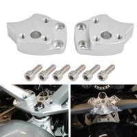 Motorcycle Handlebar Riser Spacer Kit For Yamaha FJR1300 FJR 1300 2001 2002 2003 2004 2005 Handle Bar Riser Mount Clamp