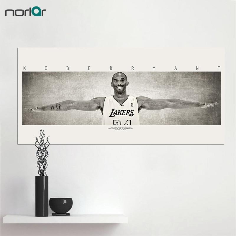 Basketball Sports Canvas Wall Art For Boys Bedroom Decor: Canvas Painting Michael Jordan WINGS Basketball Sports