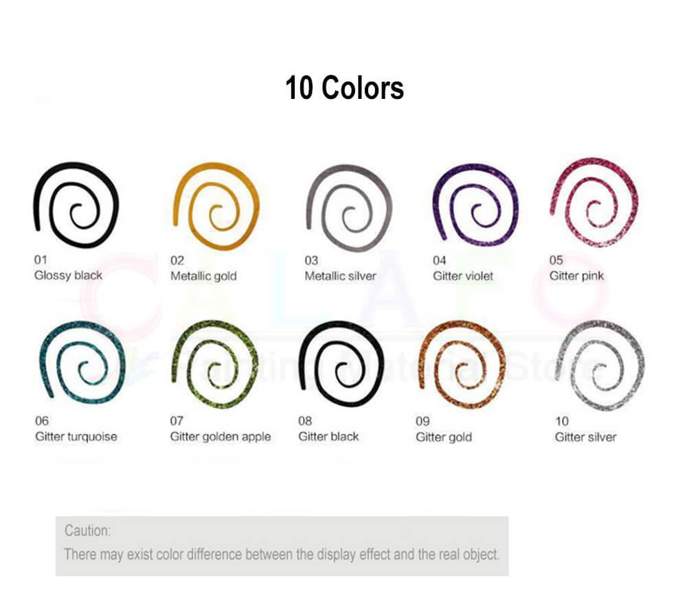 pigmento na tela de vidro cerâmica