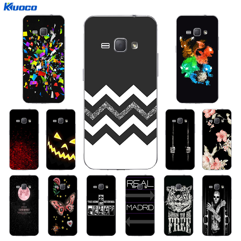 for Coque Samsung J1 2016 Case Soft TPU Cover Case for Fundas J1 2016 J120F SM-j120f/ds Silicon Character Printing Covers