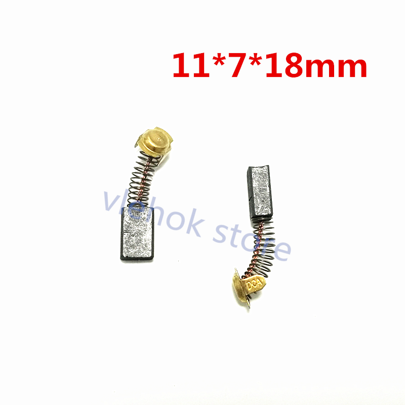 999043 Carbon Brushes For HITACHI WR22SA VB16Y UT8V PU-PM3 PR-38E PR-25B PH-40FY D13Y F-30A G13SC G13SC2 G15SA2 KM12SC KM12VC