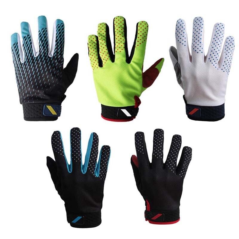 1 Pair Men Women Cycling MTB Road Bike Full Finger Anti-skid Sports Gloves Warm Cycling Clothing