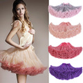 2016 new fashion fluffy adolescente Adualt mulheres Mulheres tutu dance Party saia adulto XC001