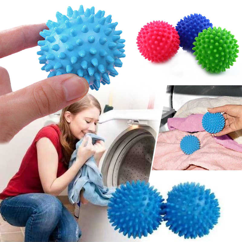 Laundry Washing Ball Plastic Faster Washing Dryer Balls No Chemical Laundry Fabric Wash Clothes Clean Drop shipping