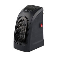 Upgrade New 400W Electric Handy Heater Portable Wall Outlet Electric Heater Stainless Steel Stove Hand Warmer