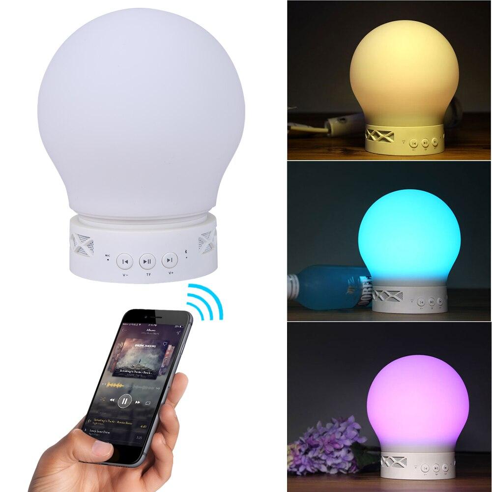 Led wireless bluetooth control light bulb music speaker for Bluetooth controlled light bulb