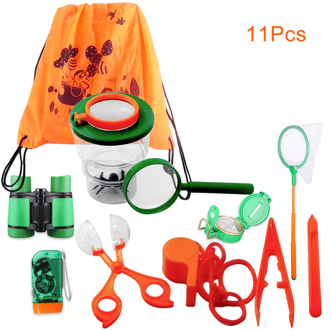 11Pcs Catching Butterfly Tool Set Flying Insect Toys Kit for Children Wilderness Adventure Sports Toys for Kids Children 201811Pcs Catching Butterfly Tool Set Flying Insect Toys Kit for Children Wilderness Adventure Sports Toys for Kids Children 2018