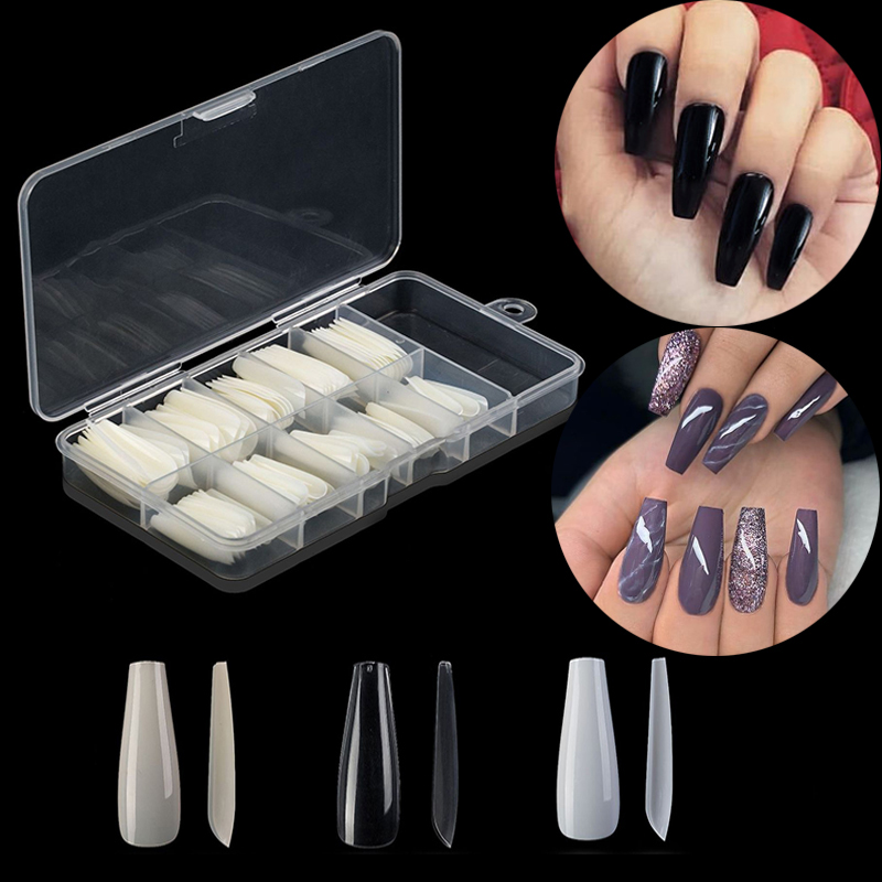 top 8 most popular clear acrylic nails with box list and get