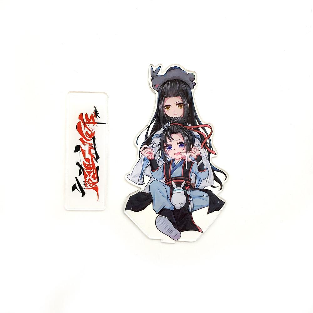 Love Thank You Mo Dao Zu Shi Wei Wuxian Lan Wangji cute acrylic stand  figure model double-side plate holder topper anime