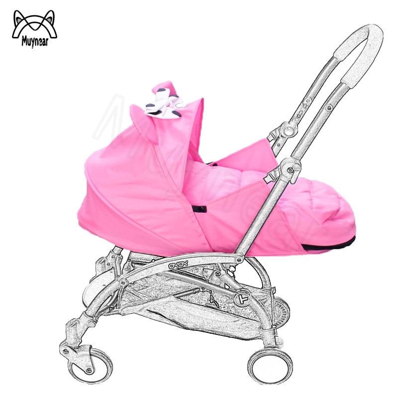 Newbron Nest Stroller Sleeping Basket for Babyzen Yoyo Yoya Babyyoya Baby Throne Sleep Bag Birth Nest Stroller Accessories-in Strollers Accessories from Mother & Kids    1