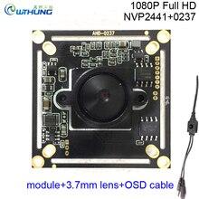 CCTV Mini Camera Module 1080P 2 0MP 4 in 1 AHD H CVI TVI CVBS 0237