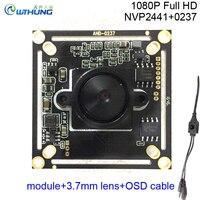 1080P 2 0MP 4 In 1 AHD H CVI TVI CVBS CCTV Camera Module 0237 NVP2441