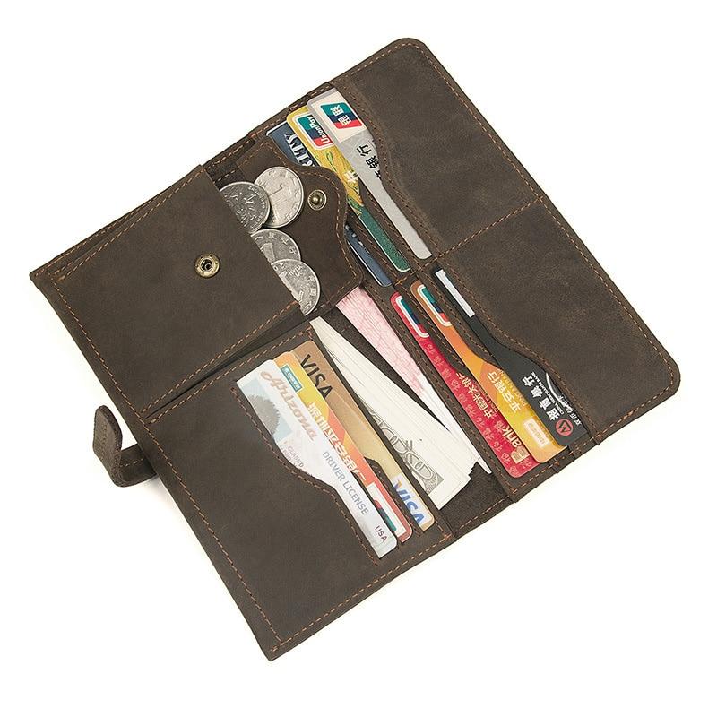Zipper hommes portefeuilles en cuir véritable hommes sacs à main doux pochette portefeuille