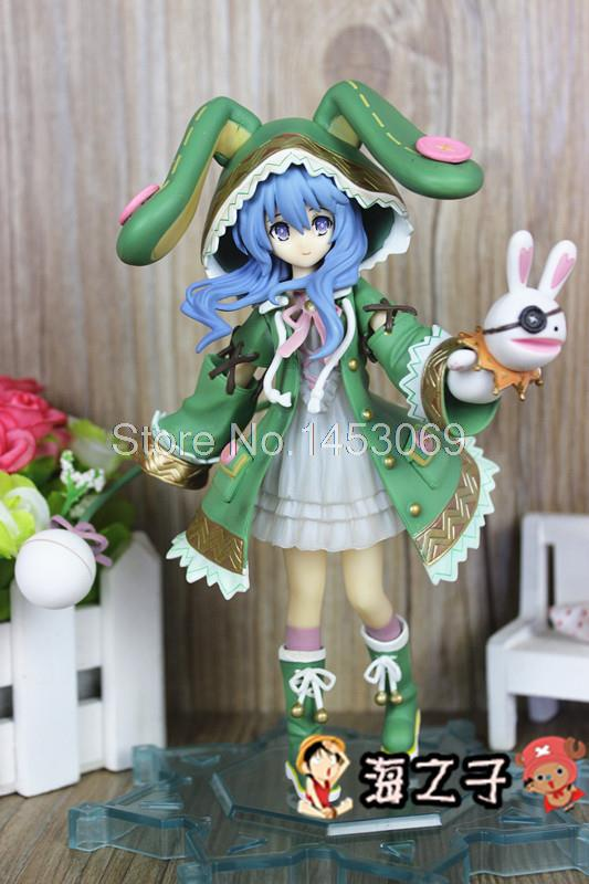 Cute Girl Date A Live Yoshino 1/8 Scale Painted 18cm PVC Action Figure Collection Model Toy SG078 dating war date a live yoshino hermit pvc action figure model toy retail
