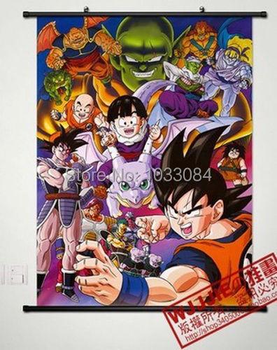 5705 Son Goku DRAGON BALL Decor Poster Wall Scroll cosplay A