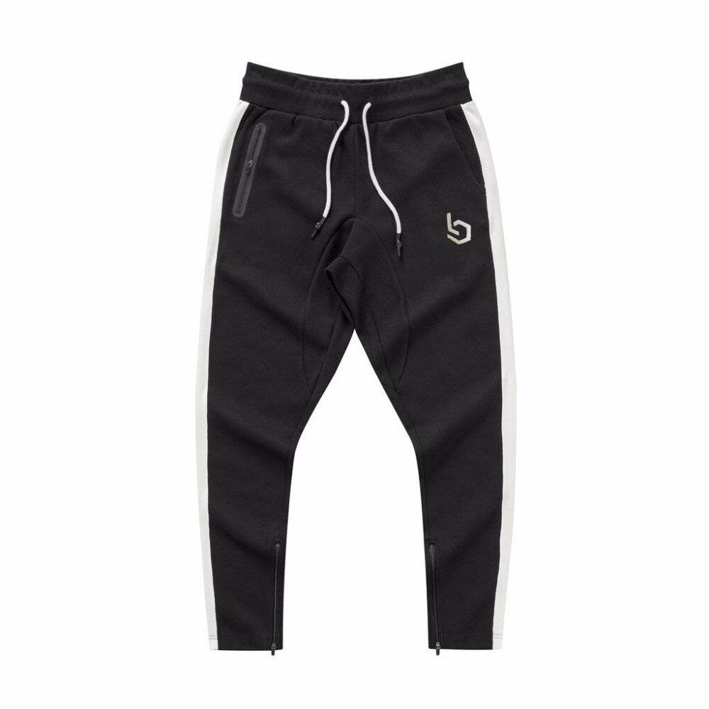 2018 ensembles pour hommes 2 pièces sweats hommes survêtement pull à capuche et pantalons bandes sweat à capuche Sportswear vêtements pour hommes - 4