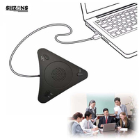 USB 500 Voip Conference Microphone Speaker Microphone USB Microphone for Computer Microphone for PC for Conference Call