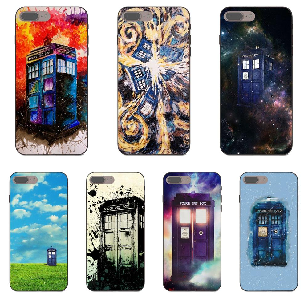 Phone Bags & Cases Maiyaca Tardis Box Doctor Who Coque Shell Phone Case For Samsung S5 S6 S7 Edge S8 Plus S6 Edge Plus S3 S4 Half-wrapped Case