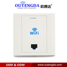 48VPW303 White Wi-fi Wifi in wall ap 300Mbps excessive velocity resort wifi protection mini entry level poe energy 48v customary