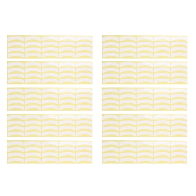 100pairs Paper Patches Eyelash Under Eye Pads Lash Eyelash Extension Paper Patches Eye Tips Sticker Wraps Wholesale
