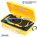 Fibra Óptica Caixa De Lançamento, Single Mode 62.5/125 1 KM, SC/APC-SC/APC conectores trabalhar com a série cabo de extensão de teste OTDR