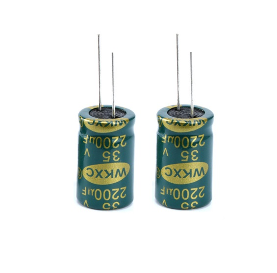 5  pcs Electrolytic Capacitors High Frequency 35V 2200UF 16*25MM Aluminum Electrolytic Capacitor 1 470uf semiconductor plug electrolytic capacitors set black 120 pcs