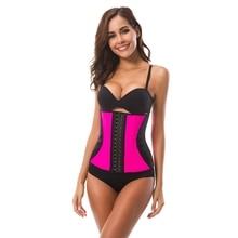 Slimming Belt Shapewear Body Corset Steel Bone Waist Trainers Women High Shaper Belly Modeling Strap