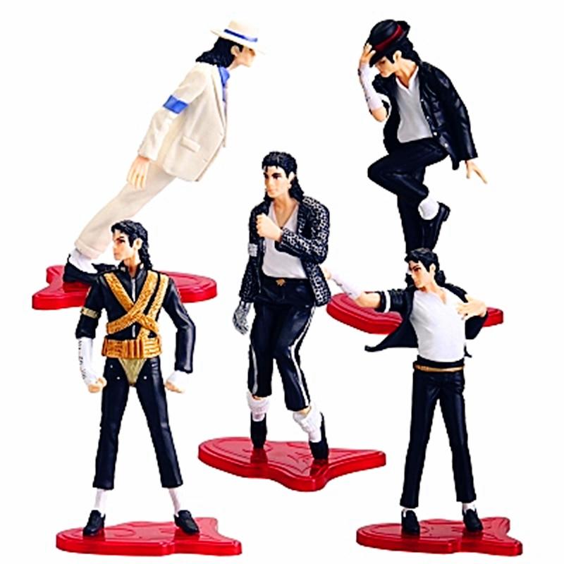 [Ny] Högkvalitativ Michael Jackson Konungen av pop PVC Action - Toy figuriner - Foto 1