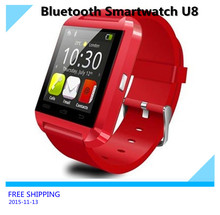 Bluetooth Smartwatch U8 para Samsung S4 / Note 3 teléfono HTC Android Smartphones Android Wear 3 colores