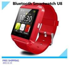 Bluetooth Smartwatch U8 für Samsung S4/Anmerkung 3 HTC Android Phone Smartphones Android Tragen 3 Farben