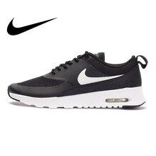separation shoes 3c64a 649df Chaussures de course pour femmes NIKE AIR MAX THEA authentiques avec  sangles d amortissement baskets